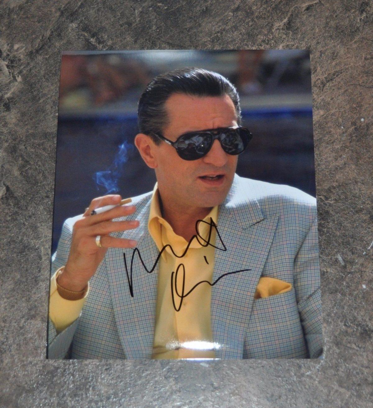 ROBERT DENIRO - ORIGINAL HAND SIGNED / AUTOGRAPHED 8x10 PHOTO CASINO