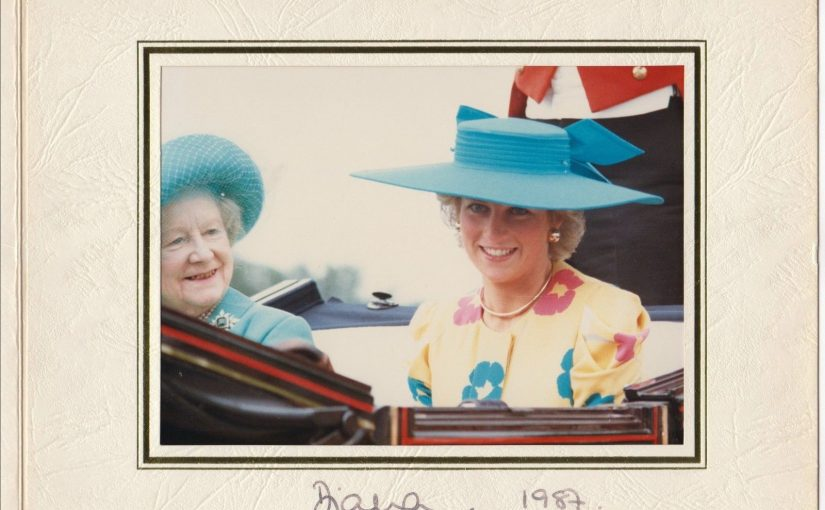 Diana, Princess of Wales (1961-1997) – beautiful signed photograph From Philip Somerville Estate