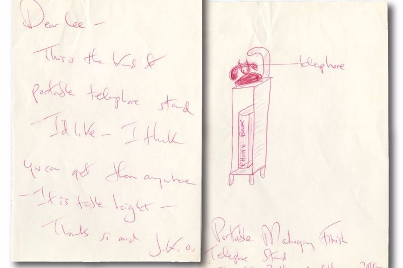 Jacqueline Kennedy Onassis - First Lady  Wife of JFK - Autographed Letter ALS