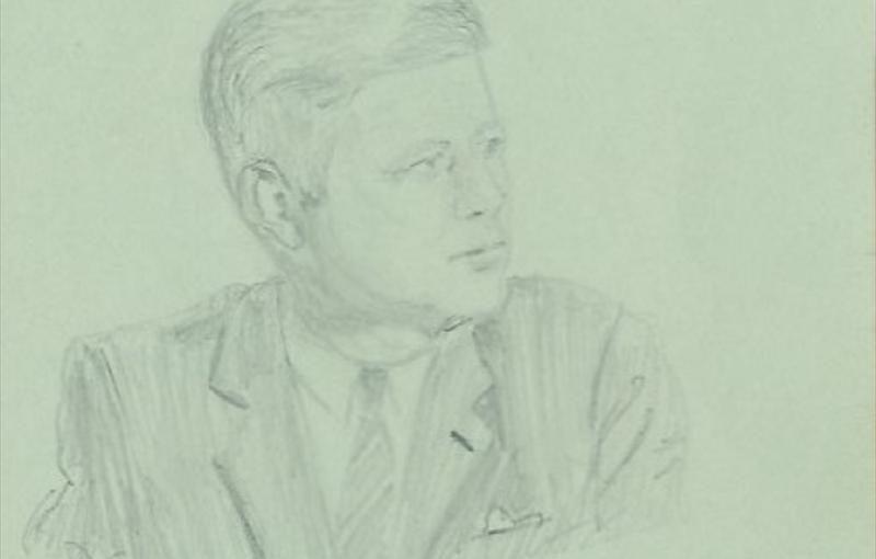 President John F. Kennedy- Perhaps his last Autograph Ever!!!!!